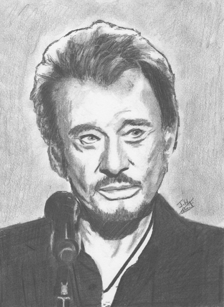 Johnny Hallyday by Fantomas
